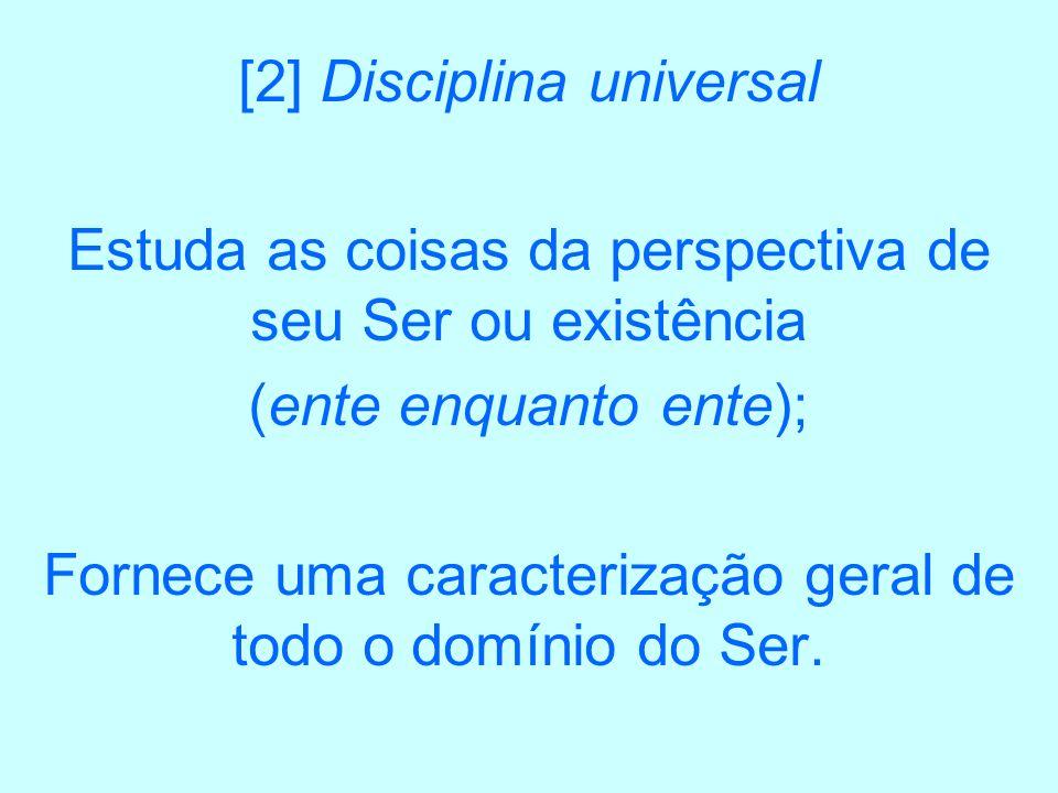 [2] Disciplina universal